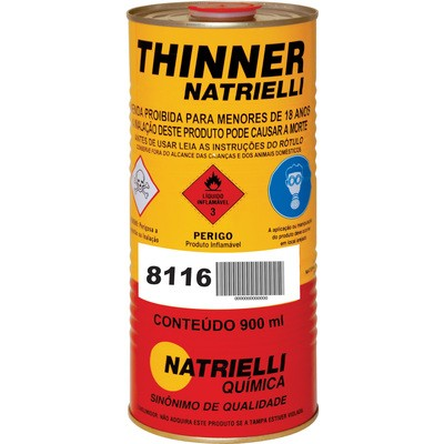 Thinner Natrielli 8116 900ml